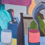 farbiges abstraktes Stillleben